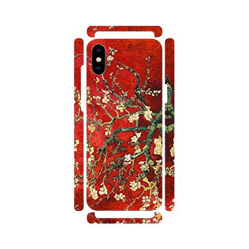 DìMò ART Cover Case Custodia Apple Modello iPhone 7 8 Plus Van Gogh Vincent Mandorlo in Fiore (Red Variation)