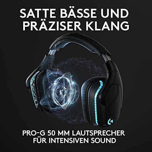 Logitech G935 Kabellose Gaming-Kopfhörer Bild 2*