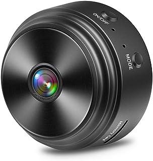Spy Camera Hidden, Smallest Mini Security Surveillance Camera 1080P Full HD Wireless Micro Tiny Spy Cam For Home Indoor Ou...