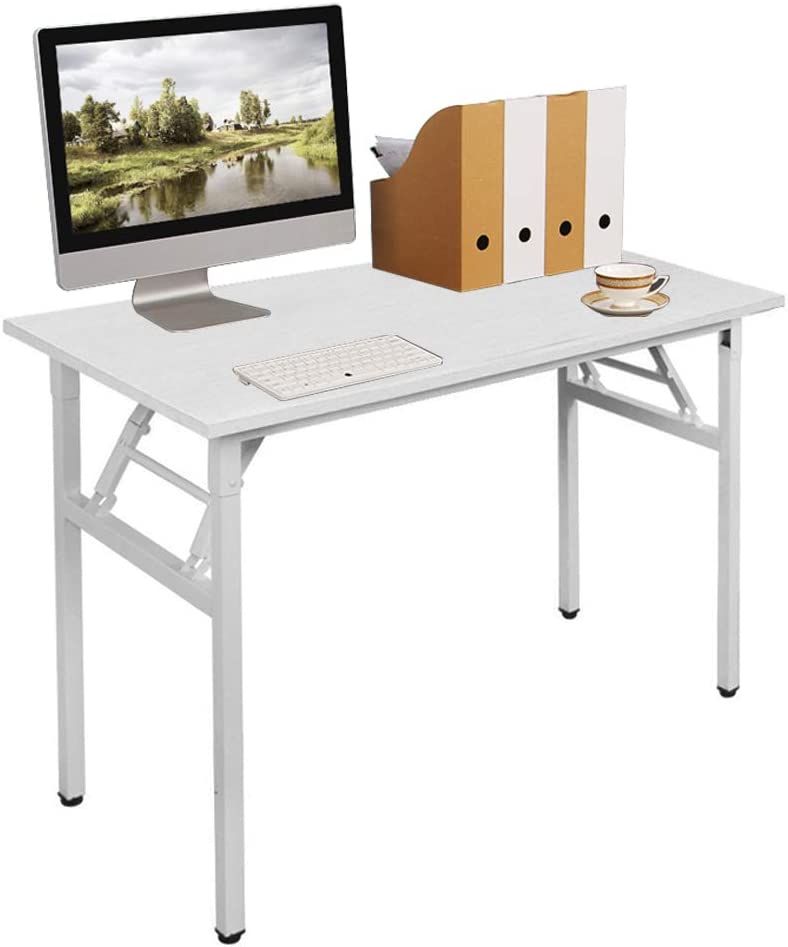 Need 39.4 inch service Computer Max 84% OFF Desk for Folding Small Space Table