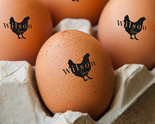 EGG STAMP, Chicken EGG Stamp, Egg Stamps, Custom Egg Stamp, Egg Labels, Mini Egg Stamp, Farm Stamp, Eggs Stamp, Fresh Egg Stamp