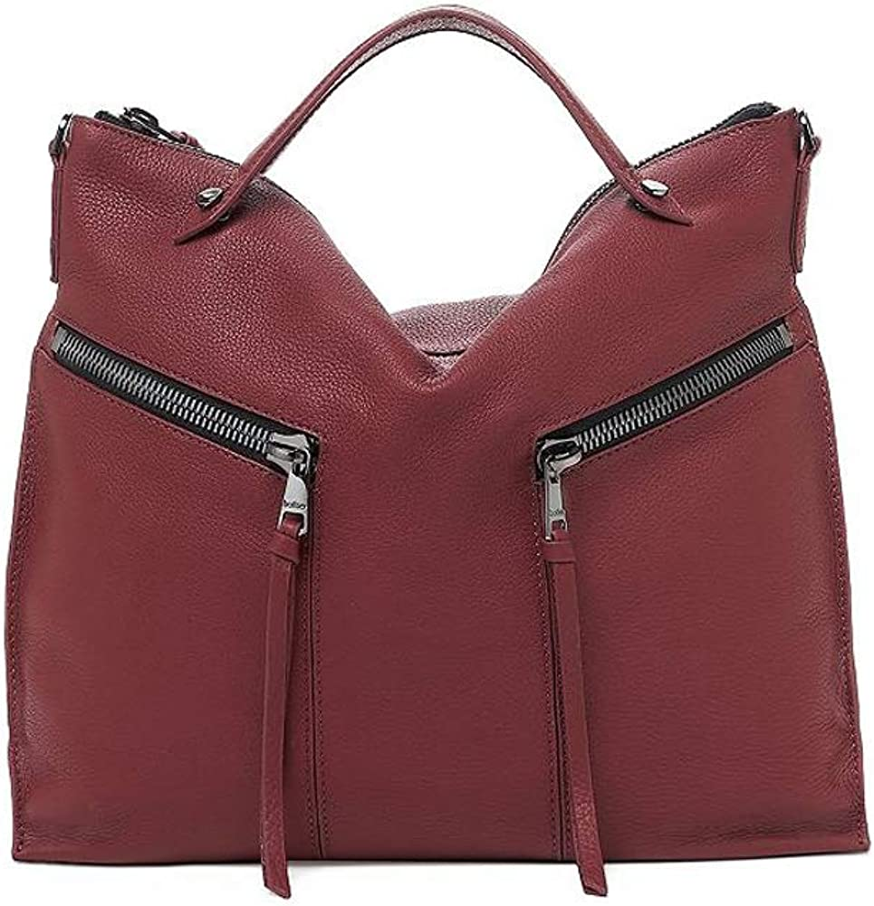 Botkier Woman's Leather Trigger Hobo, Antic Cordovan