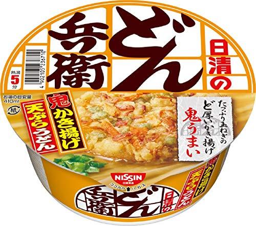日清食品 どん兵衛 かき揚げ天ぷらうどん 97g×12個