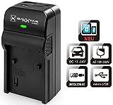 Baxxtar 5en1 Cargador Para Batería Panasonic DMW BLG10 E - RAZER 600 II - Lumix DC LX100 II GX9 TZ95 TZ90 TZ200 DMC TZ100 TZ80 GF6 GX7 GX80 LX100 - salida USB para otros dispositivos (Smartphone)