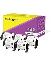 5 Compatibles Rollos DK11209 DK-11209 29mm x 62mm Etiquetas para Brother P-Touch QL-500 QL-550 QL-570 QL-700 QL-800 QL-810W QL-820NWB QL-1050 QL-1060N QL-1100 QL-1110NWB (800 Etiquetas por Rollo)
