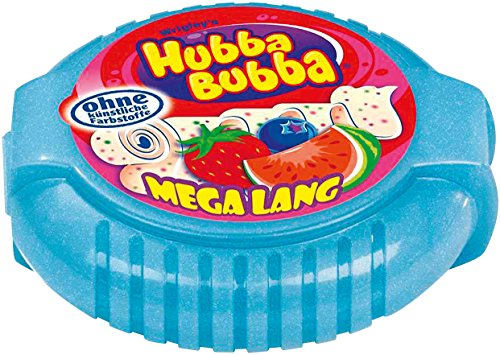 Hubba Bubba Bubble Tape Triple Mix 1,8 Meter, 4er Pack (4 x 1 Stück)