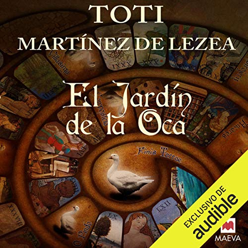 El jardín de la oca [The Garden of the Goose] audiobook cover art