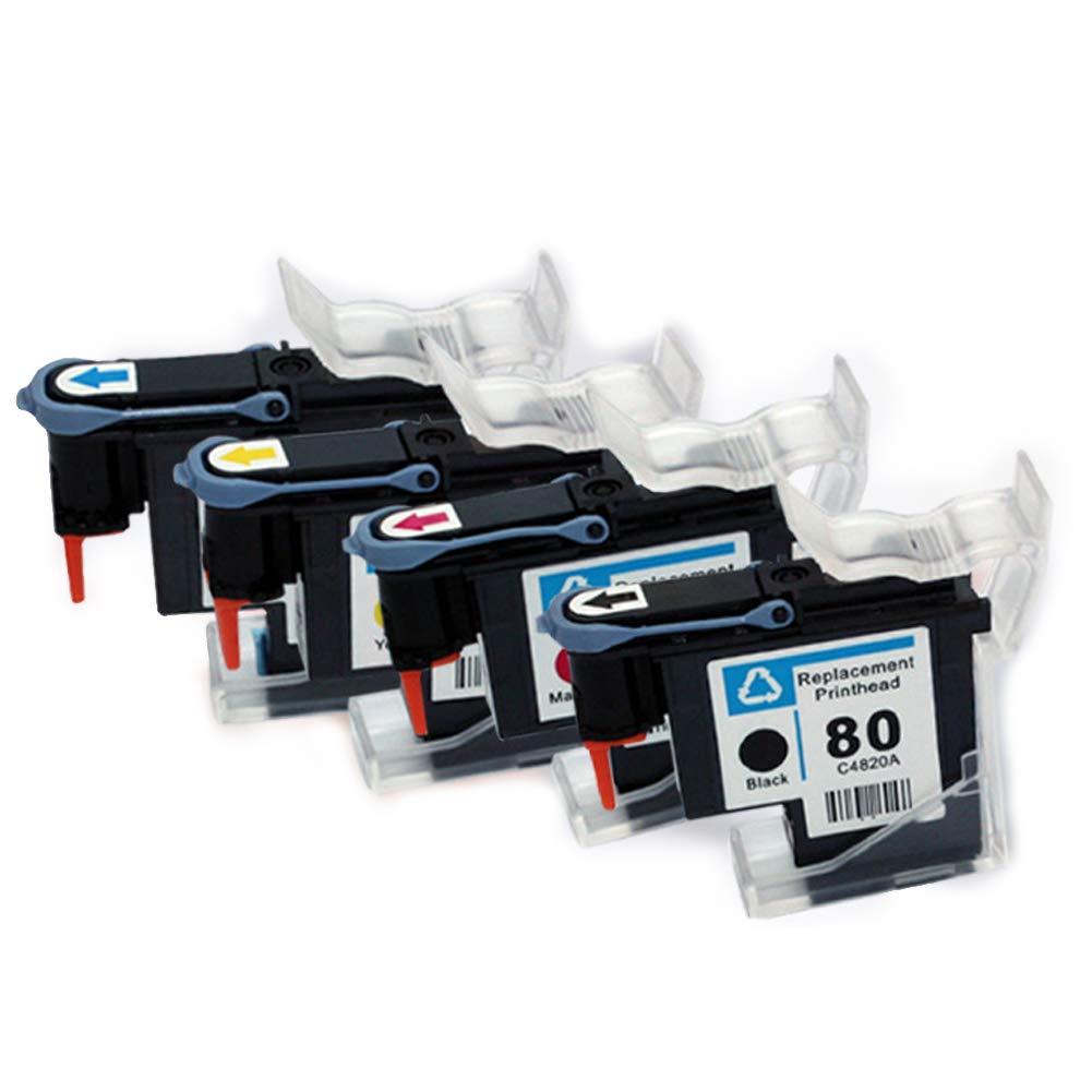 Compatible con el cabezal de impresión HP No. 80, adecuado para el cabezal de impresión de