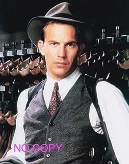 大きな写真「アンタッチャブル」ケビン・コスナーと機関銃