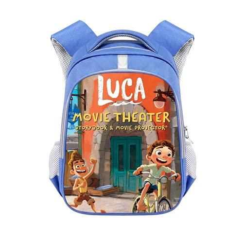 Luca Mochilas Mochila escolar Bolsa de almuerzo Luca Bolsos Estudiantes Bolsa de hombro, 4 (Reino Unido), luca blue,