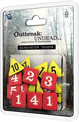 Renegade Game Studios Outbreak Undead 2ND Edition Gamemaster s Tokens product image