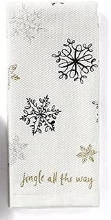 Kate Spade Kitchen Towel Set, Snowflakes