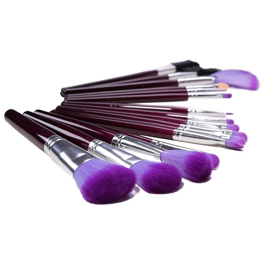 依存エミュレートするストレッチZbratta 化粧ブラシ化粧ブラシセット絶妙なソフトで快適な剛毛耐久性が高く、お手入れが簡単化粧ブラシ16紫色の化粧ブラシ快適な肌触り高品質の繊維剛毛 売り上げ後の専門家