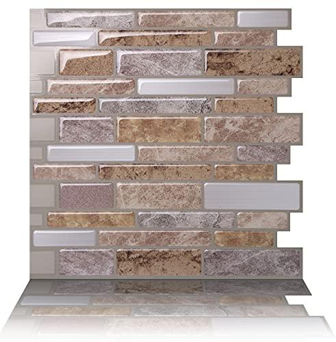 Tic Tac Tiles Pelar antimoho y enchufe azulejo de la pared En Polito Fresco 10 10