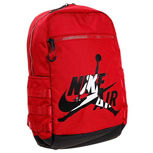 Nike Air Jordan Jumpman Logo Classic Backpack (One Size, Gym Red)