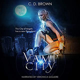 Vamp City audiobook cover art