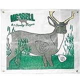 Morrell Targets Polypropylene Archery Target Face, Mule Deer, Multi