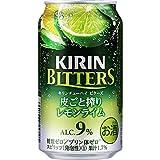 キリンチューハイ ビターズ 皮ごと搾りレモンライム [ チューハイ 350mlx24本 ]