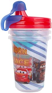 The First Years Cars Take & Toss 10oz Sippy Cups 3pk with cap
