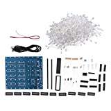 IPOTCH Squared DIY Kit 8x8x8 LED Cube Licht PCB Board für Arduino