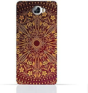 Huawei Y6 II Compact TPU Silicone Case With Floral Pattern 1201