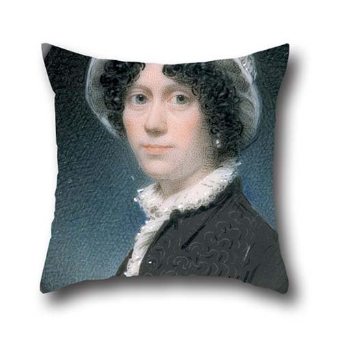 The Oil Painting Attributed To Thomas Hull - Portrait Of A Woman Cushion Covers Of ,20 X 20 Inches / 50 By 50 Cm Decoration,gift For Divan,her,kids,deck Chair,dinning Room,outdoor (both Sides)