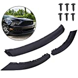 VRracing Compatible for Ford Mustang 2013-2014 Rp Style Front Bumper Lip Lower Spoiler Wing Body Kit