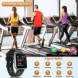 Zoom IMG-1 canmixs smartwatch orologio fitness uomo