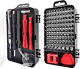 【110 in 1 Precision Screwdriver Set】The precision screwdriver tools set has all the bits you would ever need. Use it to fix mobile phones, digital cameras, watches, laptops, and game consoles. Meet the daily needs of every customer,is the best choice...