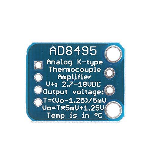 Módulo electrónico ARMZ THERMOPLE PRECISION AMPLIFICACIÓN TERMAL AMPLIFICADOR MÓDULO K-TIPO PROPIO ANALOGO AD8495 Equipo electrónico de alta precisión