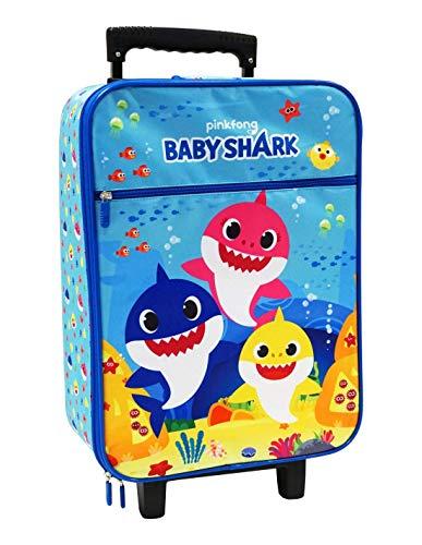 CORIEX SRL Trolley Baby Shark de Viaje semirrígido Maleta 53 x 33 x 18 cm - N01082MC