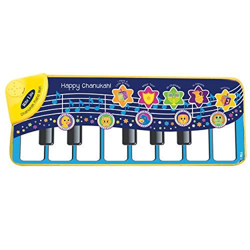 Rite Lite Chanukah Piano, Sings 5 Songs, Includes Dreidel Song Sheet, Hanukkah Fun Sing Along