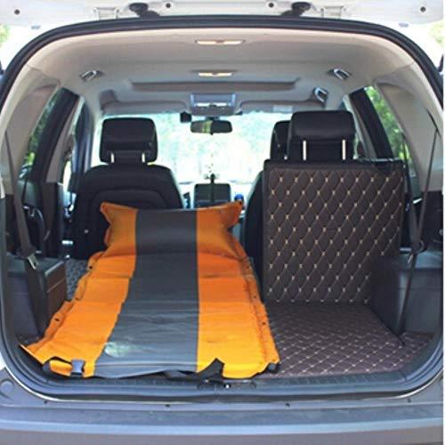 Clkdasjd Auto-Matratze Reisebett Luftbett Limousine Kofferraumabdeckung gelb
