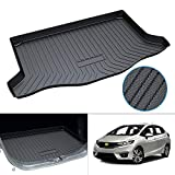 Powerty Trunk Mat All Weather TPO Rear Cargo Liner for 2021 Honda Fit 2015 2016 2017 2018 2019 2020 Upgrade Material