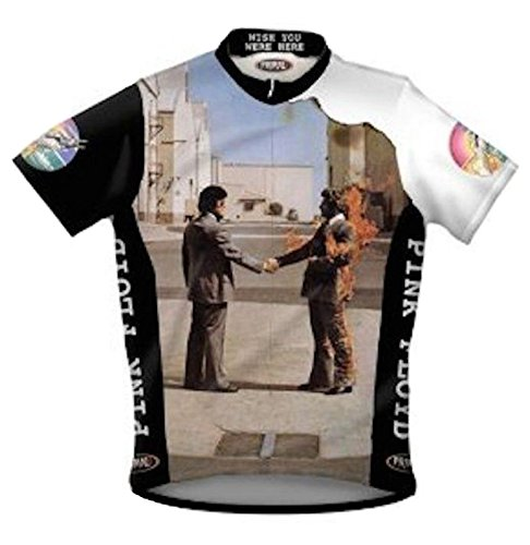 Primal Wear Pink Floyd Wish You were Here Cycling Jersey Men's Large Short Sleeve