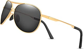 Polarized Aviator Sunglasses for Men and Women-UV400...