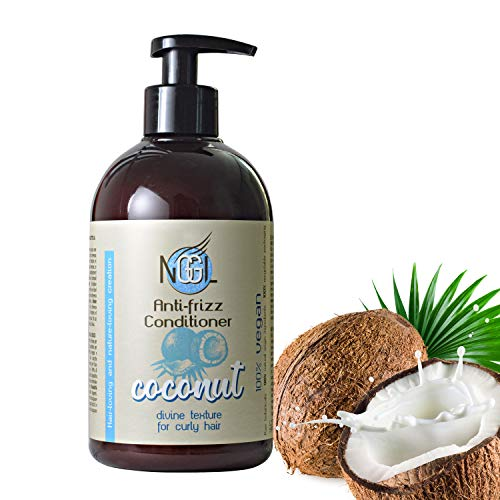 NGGL Vegan Premium Hair Spa with 100% natural Coconut oil Anti-frizz; Conditioner 500ml