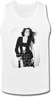 SUNRAIN Men's Bebe Rexha Singer Poster Tank Top