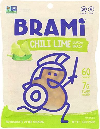 Brami Lupini Snack Bean Chili Lime, 5.3 oz