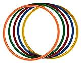 Boje Sport Set de 5X Aros Ø ca. 50 cm, 5 Colores