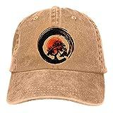 XCNGG Gorra de béisbol de Mezclilla teñida con Hilo de árbol Bonsai para Hombre/Mujer Sombrero de Rapero de Calle Ajustable