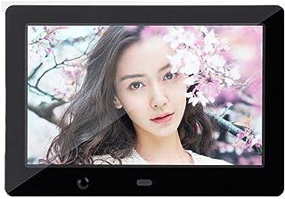 FEE-ZC 7 Inch Digital Photo Frame, 1024X600 Photo/Music HD Video Player Calendar Clock Remote Control Gift Wall-Mounted El...