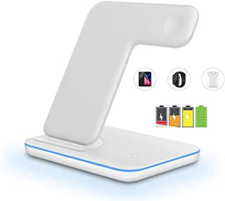 LIHAIZI Good Things Recommended - 15W Qi Fast Wireless Charger Stand For iPhone 11 XS XR X 8 AirPods Charging Dock Station...