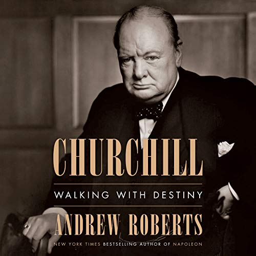 Churchill audiobook cover art
