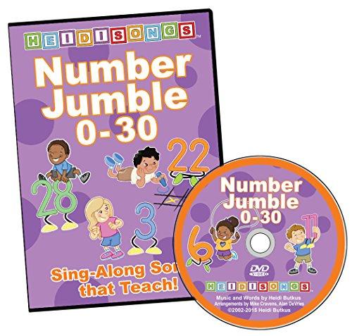Number Jumble 0-30 DVD