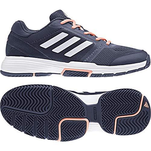 Adidas Barricade Club W, Zapatillas de Soft Tenis para Mujer, Azul (Indnob/Ftwbla/Cortiz 000), 37 1/3 EU