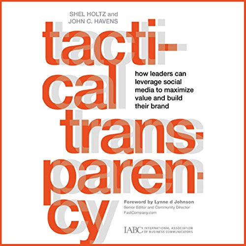 Tactical Transparency audiobook cover art