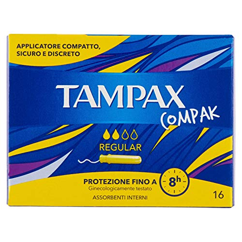 Tampax Compak Regular–16