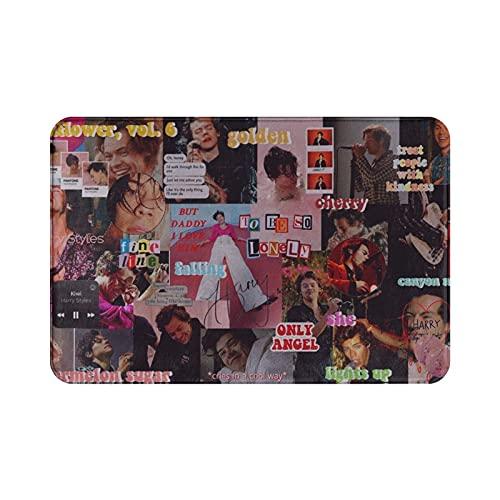 Albummerch Harry Styles Pop Rock Teen Idol Rolling ST-One Türmatte WC-Teppich Antibakterielle Kunst Maschinenwaschbar Badezimmer Büro