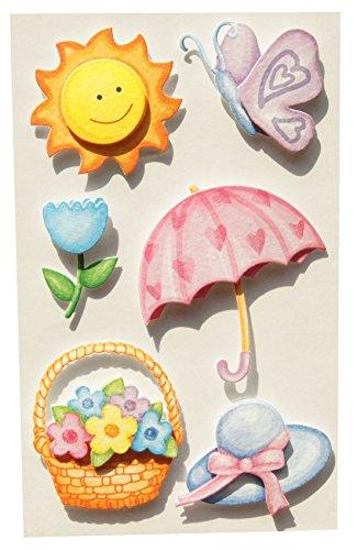BSB-Obpacher GmbH 3D Collage Fun - Sticker Sommermotive